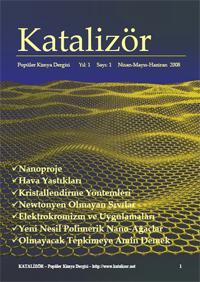 Katalizör - Popüler Kimya Dergisi - Sayı 1